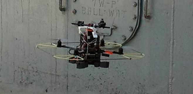 La UIB diseña un robot para inspeccionar barcos de gran tonelaje