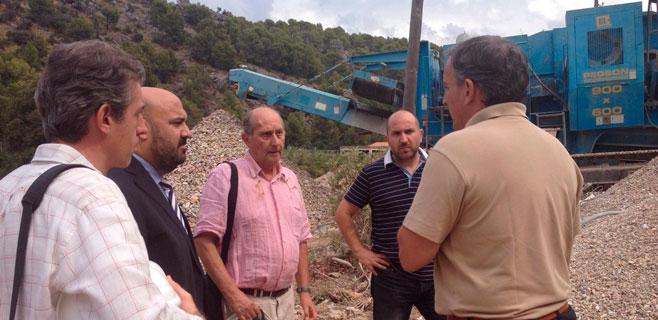 Las obras de demolición del hotel Rocamar se encuentran en su fase final