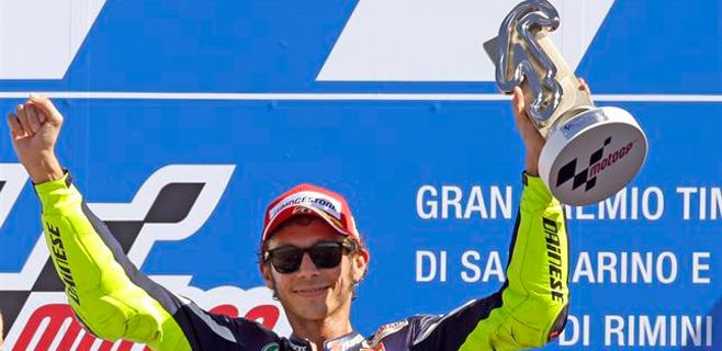 Jorge Lorenzo llega segundo tras Rossi