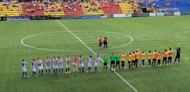 El Atlètic Balears aprende a ganar (1-2)