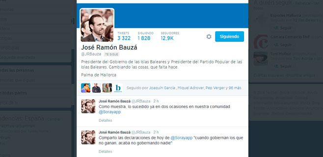 Bauzá apoya la propuesta de Rajoy de que sea alcalde quien más votos tenga