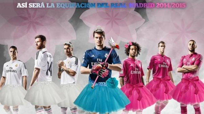 El Madrid cambia de equipación
