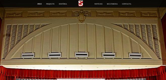 El Teatre Principal estrena web