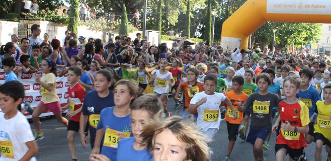 Más de 2.000 niños en la Kids Run
