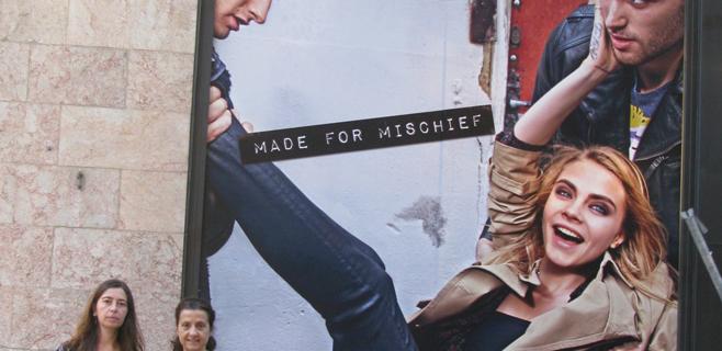 Més presenta una denuncia contra un anuncio de la calle Jaime III por sexista