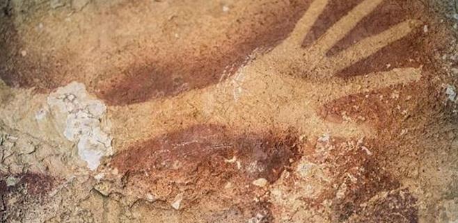 Descubierto en Indonesia el arte humano más antiguo