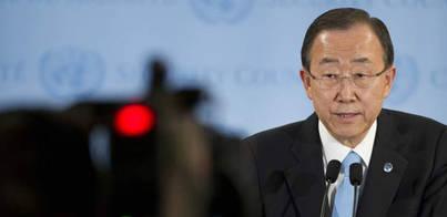 Ban Ki-Moon dice que la ONU respetará el proceso catalán