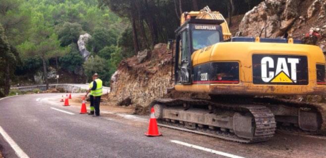 Arrancan las obras del camí vell de Lluc para mejorar el paso de excursionistas