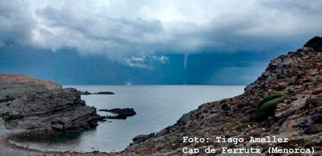 El temporal trae un festival de 'caps de fibló' frente a Mallorca y Menorca