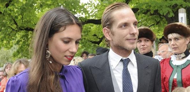 Andrea Casiraghi y Tatiana Santo serán padres de nuevo