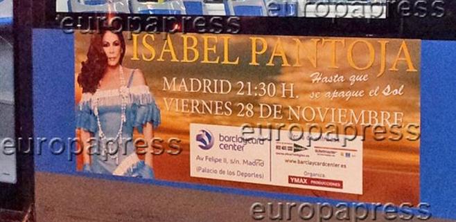 Isabel Pantoja anuncia un concierto a punto de entrar en prisión