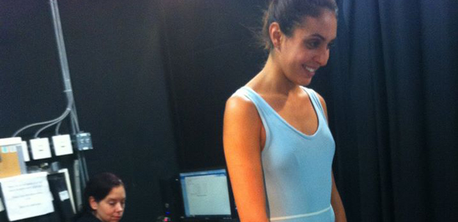 Marga Crespí ya ensaya con el Cirque du Soleil