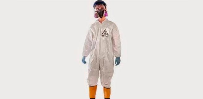 El traje contra el ébola sale a la venta para Halloween