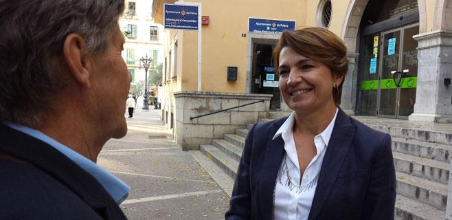 Marga Durán, candidata del PP a  Cort