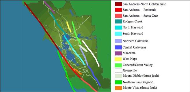 La falla de San Andrés acumula energía para un gran terremoto