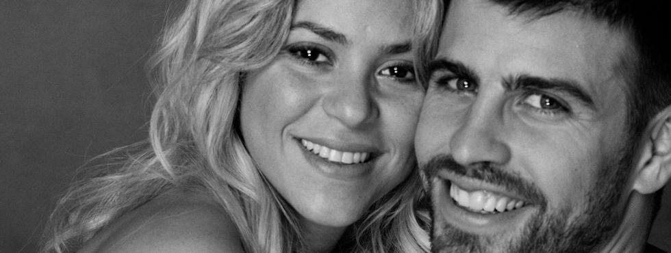 Shakira y Piqué 'enseñan' su segundo hijo