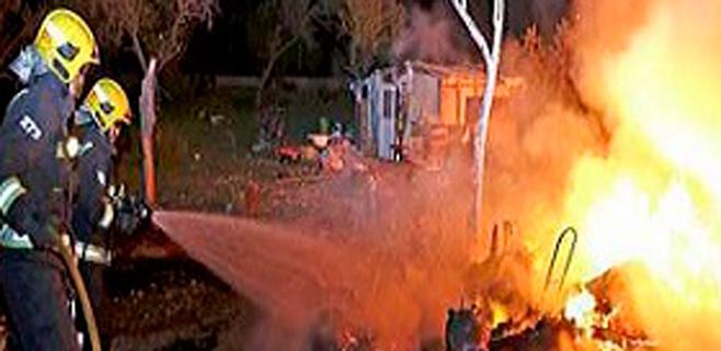 El acusado de quemar 5 chabolas de Can Valero acepta 5 años de cárcel