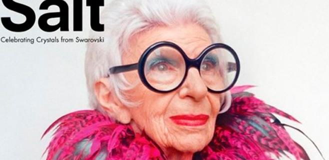 Iris Apfel, la anciana más estilosa del mundo a sus 93 años