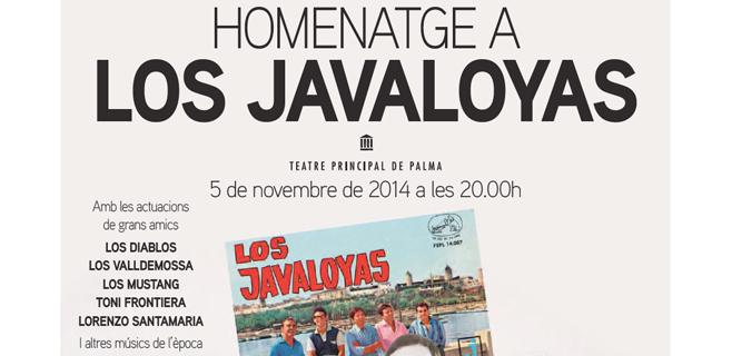 Ya hay cartel para el homenaje a Los Javaloyas