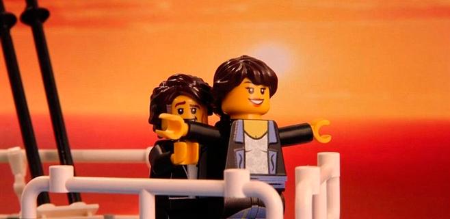 Un joven recrea con LEGO los mejores momentos del cine