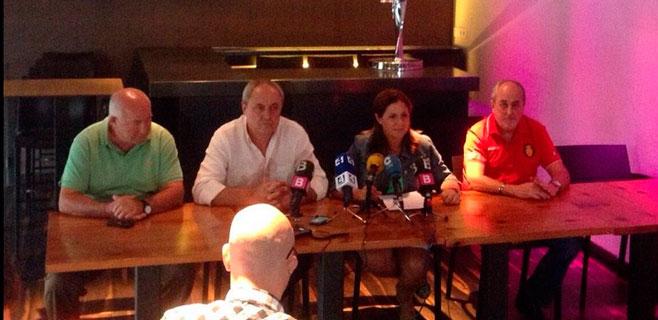 La Federació de Penyes calcula que 600 personas irán a la manifestación