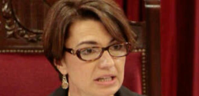 Marga Durán es la favorita del PP para sustituir a Isern al frente de Cort