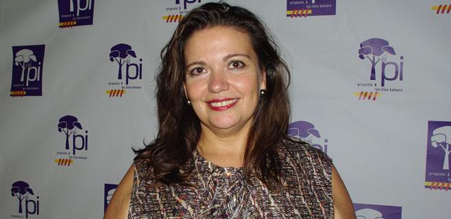 Pascual, presidenta de PI de Palma