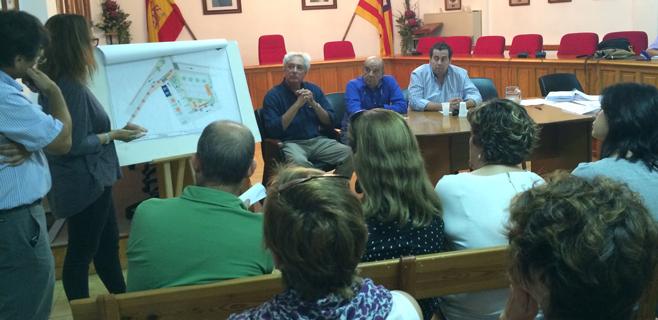 Marratxí presenta los cambios de las plazas Ca'n Flor y Sa Cabana