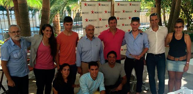 Megasport Centre homenajea a los campeones de España