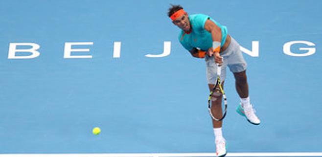 Nadal se deshace (6-3 y 6-4) de Peter Gojowczyk