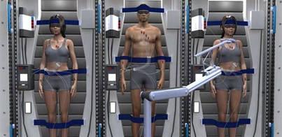 """La NASA """"hibernará"""" a los astronautas para viajar a Marte"""