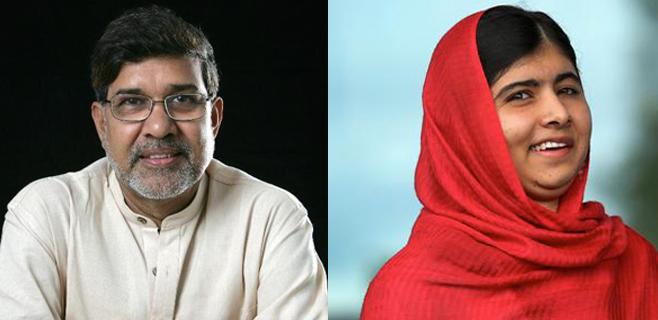 Nobel de la Paz para Kailash Satyarthi y Malala Yousafzai
