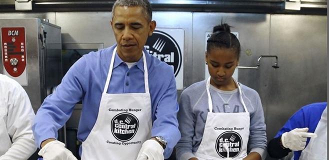 Un restaurante rechaza la tarjeta de crédito de Obama