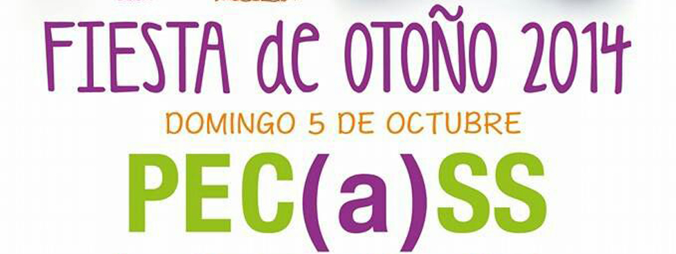 Pecass celebra la Fiesta solidaria de Otoño
