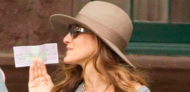 Sarah Jessica Parker se encuentra 4.700€ y busca al dueño