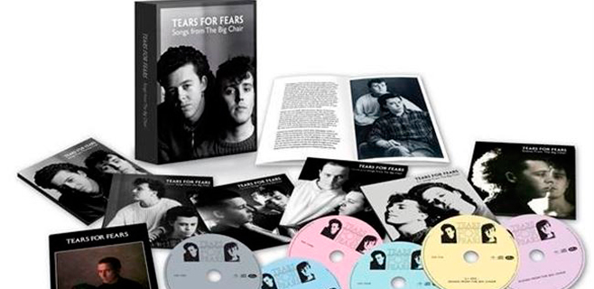 Tears For Fears reedita 'Songs from The Big Chair'