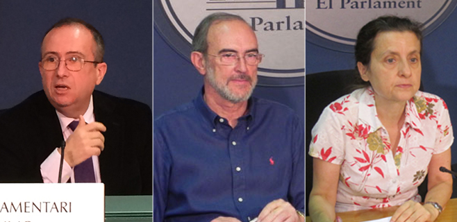 Veramendi, Diéguez y Santiago serán portavoces de la comisión Son Espases