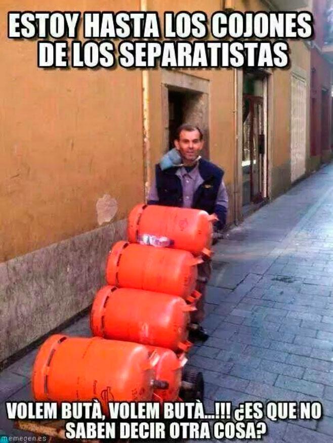 El butanero no da abasto en Catalunya