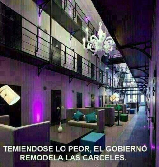 Cárceles VIP para presos VIP