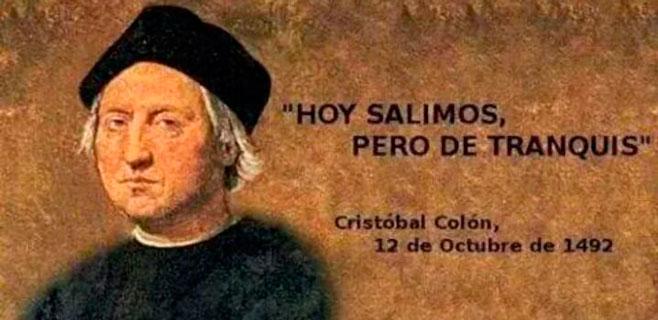 Y Colón se fue de marcha