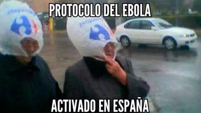 Los trajes anti-ébola de Mato