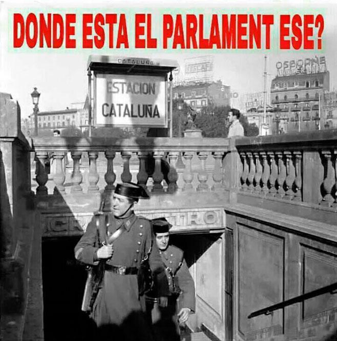 Los tricornios buscan el Parlament