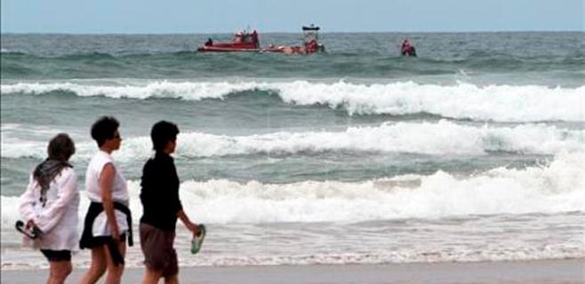Fallecen dos surfistas en Zarautz