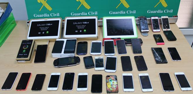 Dos detenidos en Sa Pobla por vender aparatos robados valorados en 40.000€