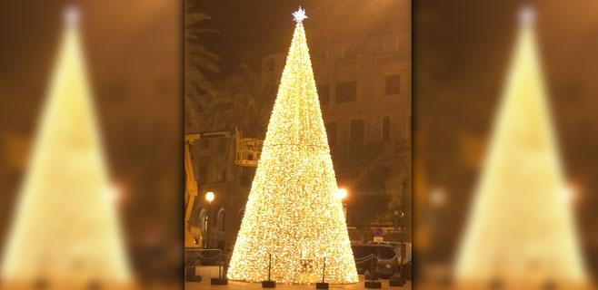 Palma inaugura las fiestas de Navidad
