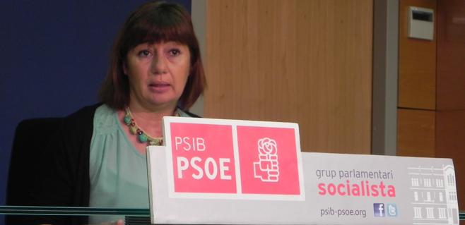 Armengol (PSIB) descarta cualquier pacto de gobierno con el PP en 2015