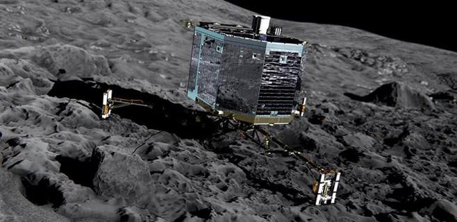 Philae vuela rumbo al cometa 67P