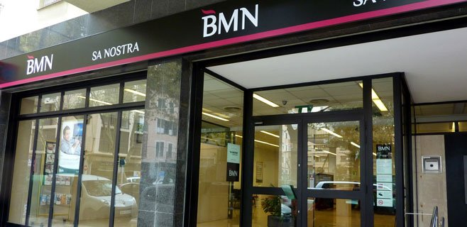 BMN-Sa Nostra implanta su nueva imagen en los rótulos