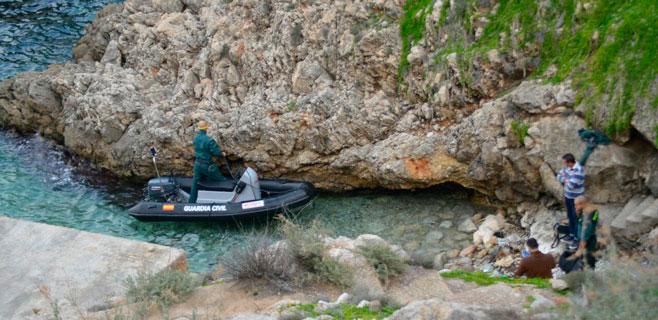 Aparece un cadáver humano amputado flotando muy cerca del Port d'Andratx