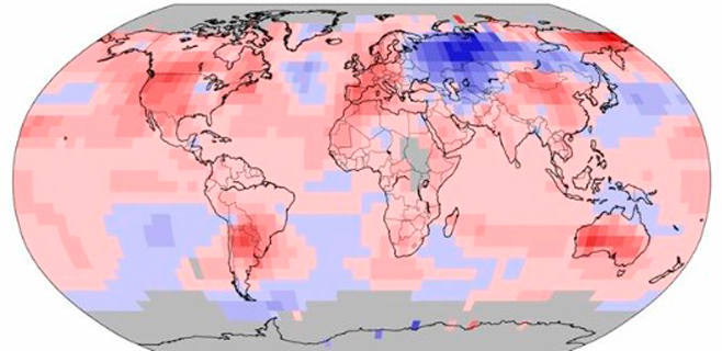 Octubre batió todos los registros de calor